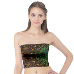 Vibrant Colorful Abstract Pattern Seamless Tube Top