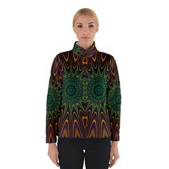 Vibrant Colorful Abstract Pattern Seamless Winterwear