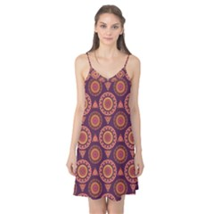 Abstract Seamless Mandala Background Pattern Camis Nightgown