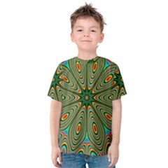 Vibrant Seamless Pattern  Colorful Kids  Cotton Tee