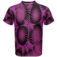 Self Similarity And Fractals Men s Cotton Tee