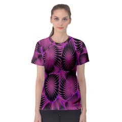 Self Similarity And Fractals Women s Sport Mesh Tee