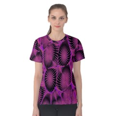 Self Similarity And Fractals Women s Cotton Tee