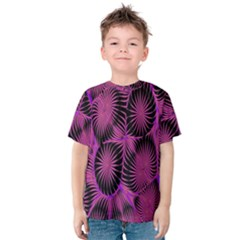 Self Similarity And Fractals Kids  Cotton Tee