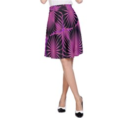 Self Similarity And Fractals A-Line Skirt