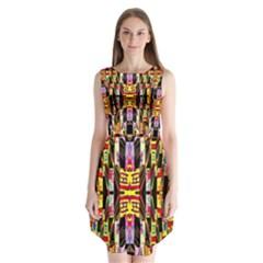 Brick House Mrtacpans Sleeveless Chiffon Dress