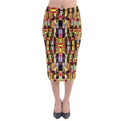 Brick House Mrtacpans Midi Pencil Skirt