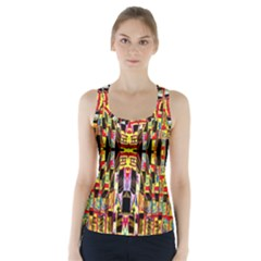 Brick House Mrtacpans Racer Back Sports Top