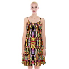 Brick House Mrtacpans Spaghetti Strap Velvet Dress