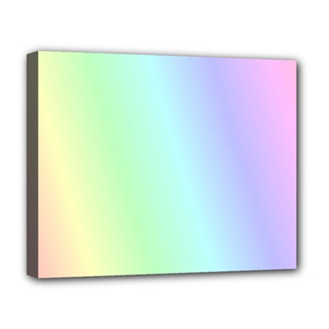 Multi Color Pastel Background Deluxe Canvas 20  x 16