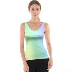 Multi Color Pastel Background Tank Top