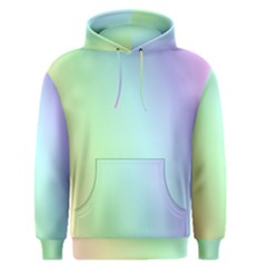 Multi Color Pastel Background Men s Pullover Hoodie