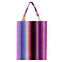 Multi Color Vertical Background Classic Tote Bag