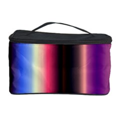 Multi Color Vertical Background Cosmetic Storage Case