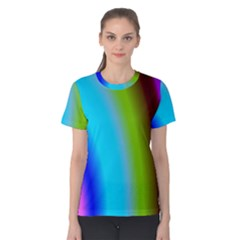 Multi Color Stones Wall Multi Radiant Women s Cotton Tee