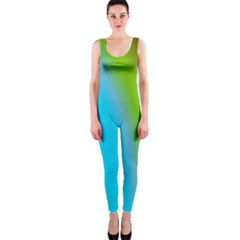 Multi Color Stones Wall Multi Radiant Onepiece Catsuit