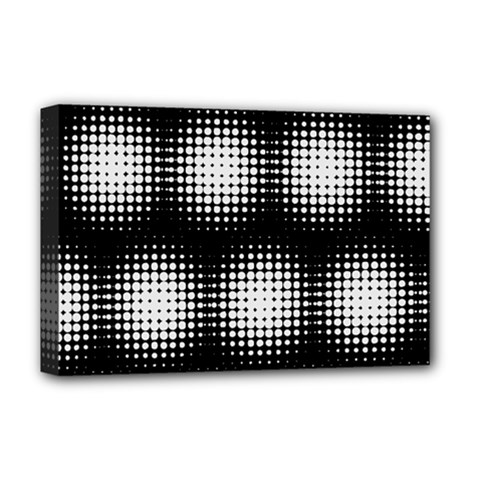 Black And White Modern Wallpaper Deluxe Canvas 18  x 12