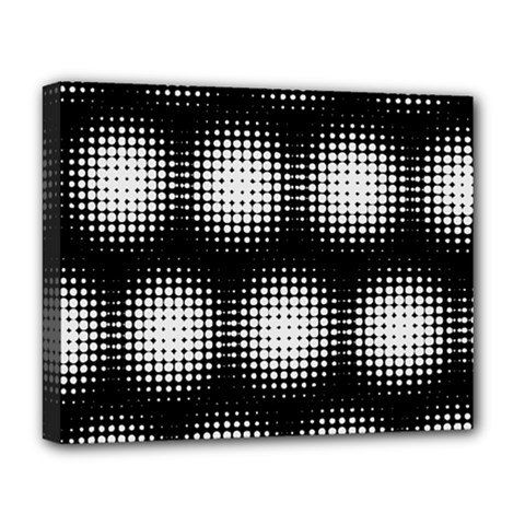 Black And White Modern Wallpaper Deluxe Canvas 20  x 16