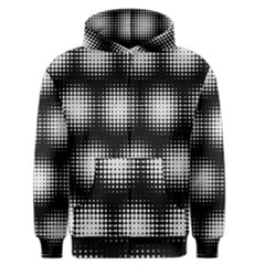 Black And White Modern Wallpaper Men s Zipper Hoodie