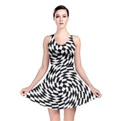 Whirl Reversible Skater Dress