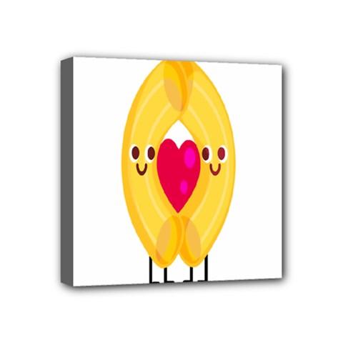 Say Pasta Love Mini Canvas 4  x 4