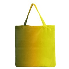 Yellow Gradient Background Grocery Tote Bag