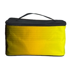 Yellow Gradient Background Cosmetic Storage Case