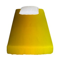 Yellow Gradient Background Fitted Sheet (single Size)