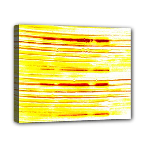 Yellow Curves Background Canvas 10  X 8