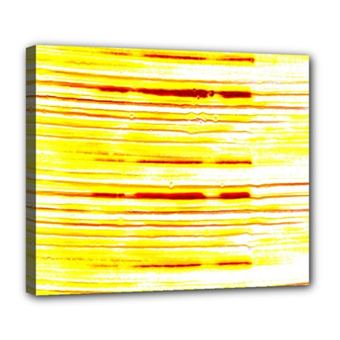 Yellow Curves Background Deluxe Canvas 24  X 20