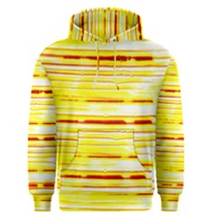 Yellow Curves Background Men s Pullover Hoodie