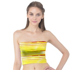 Yellow Curves Background Tube Top