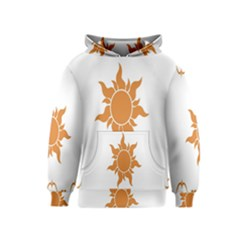 Sunlight Sun Orange Kids  Pullover Hoodie