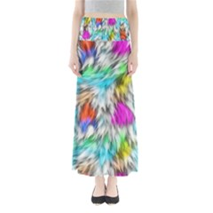 Fur Fabric Maxi Skirts