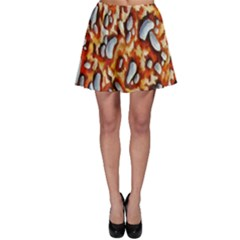 Pebble Painting Skater Skirt