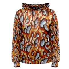 Pebble Painting Women s Pullover Hoodie