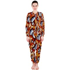 Pebble Painting Onepiece Jumpsuit (ladies)
