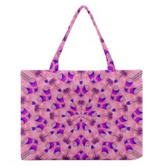 Mandala Tiling Medium Zipper Tote Bag