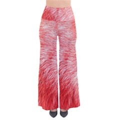 Pink Fur Background Pants