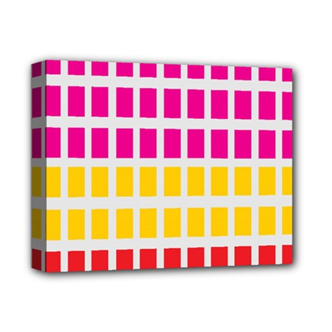 Squares Pattern Background Colorful Squares Wallpaper Deluxe Canvas 14  X 11