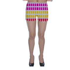 Squares Pattern Background Colorful Squares Wallpaper Skinny Shorts