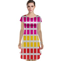 Squares Pattern Background Colorful Squares Wallpaper Cap Sleeve Nightdress
