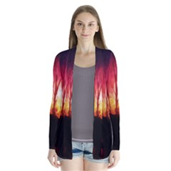 Fall Forest Background Cardigans