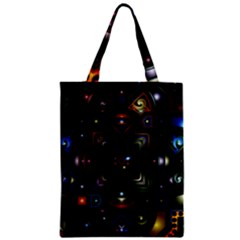 Geometric Line Art Background In Multi Colours Classic Tote Bag