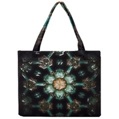 Kaleidoscope With Bits Of Colorful Translucent Glass In A Cylinder Filled With Mirrors Mini Tote Bag
