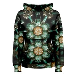 Kaleidoscope With Bits Of Colorful Translucent Glass In A Cylinder Filled With Mirrors Women s Pullover Hoodie