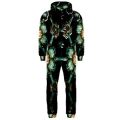 Kaleidoscope With Bits Of Colorful Translucent Glass In A Cylinder Filled With Mirrors Hooded Jumpsuit (men)