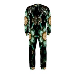 Kaleidoscope With Bits Of Colorful Translucent Glass In A Cylinder Filled With Mirrors OnePiece Jumpsuit (Kids)