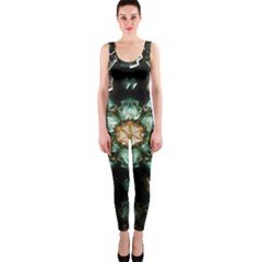 Kaleidoscope With Bits Of Colorful Translucent Glass In A Cylinder Filled With Mirrors Onepiece Catsuit
