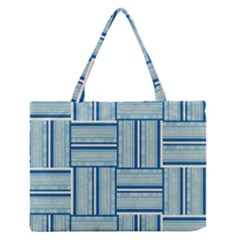 Pattern Medium Zipper Tote Bag